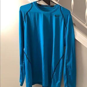 Nike Pro Dri-Fit Fitted Men's Longsleeve Shirt